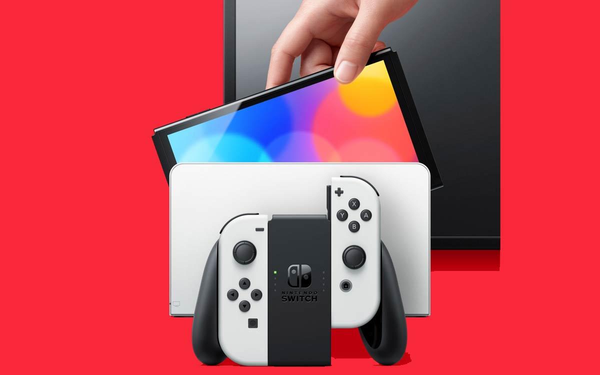 Nintendo Switch OLED: Bien que Dock compatible avec la 4K, le jeu ne soit jouable qu'en 1080.